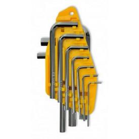 Набор ключей имбусовых Cr-V 10 шт 1,5-10 мм