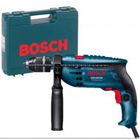 Ударная дрель Bosch Professional GSB 1600 RE в чемодане