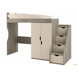 Кровать-горка без матраса+лестница 4Ш Саванна New Світ Меблів