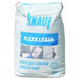 KNAUF Клей для плитки ФЛЕКСКЛЕБЕР ЦВ.1.3К4 25 кг
