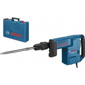 Отбойный молоток Bosch Professional GSH 11 E в чемодане с пикообразным зубилом