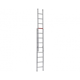 Двухсекционная алюминиевая лестница Duomax Pro VIRASTAR 2x8 ступеней