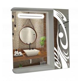 Шкаф-зеркало 60x70x14см ШК812