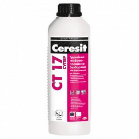 Глибокопроникна грунтовка без кольору Ceresit CT 17 2 л Супер