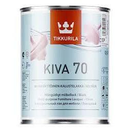 Лак Tikkurila Кива полуглянцевый 0,9 л