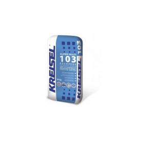 Клейова суміш для облицювання керамічною та керамогранітною плиткою (посилена) KREISEL SUPER MULTI 103, 25 кг