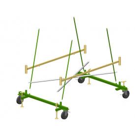 База со стопорящимися колесами вышки-туры SVELT DINGO