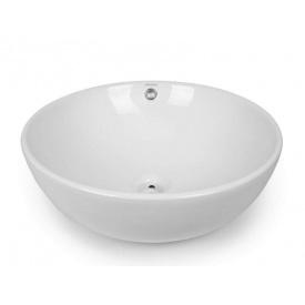Раковина NEWARC Countertop (5010) накладна, ∅ 420 мм, колір білий