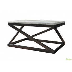 Журнальний столик Лонг Бент Метал-Дизайн