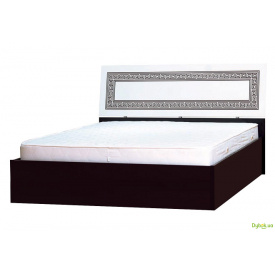 Ліжко двоспальне 160 з підйомним механізмом Бася нова Світ Меблів
