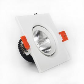 ElectroHouse LED Светильник потолочный белый 5W угол поворота 45° 4100K