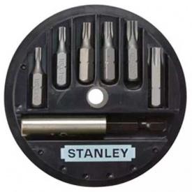 Набор бит STANLEY Torx, 25 мм, 7 шт, пластиковая коробка (1-68-739)