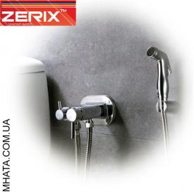 Вбудовуваний змішувач для гігієнічного душу і бачка унітазу з лійкою Zerix Z5398-1