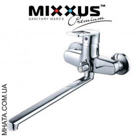 Смеситель для ванны длинный нос Mixxus Gavi Euro Chr-006