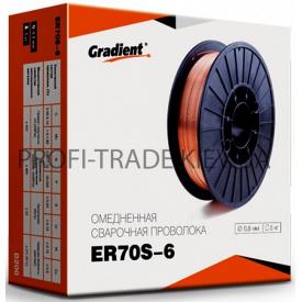 ER 70 S 08-1 Дріт зварювальний Gradient 0,8 мм 1 кг