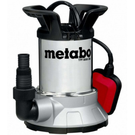 Насос погружной для чистой воды и откачки со дна Metabo 450Вт TPF 6600 SN (0250660006)