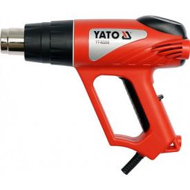 Фен технический сетевой YATO 2000Вт (YT-82288)