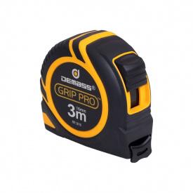 Рулетка измерительная Demass Grip Pro, 3мx16мм (RR 3016)