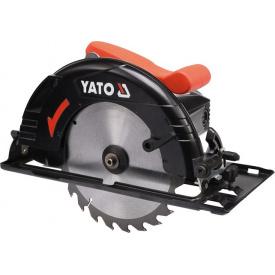 Пила дисковая ручная сетевая YATO 1300Вт (YT-82150)