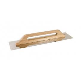 Терка нержавеющая MasterTool с деревянной ручкой 125x580 мм (08-3600)