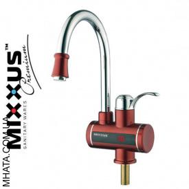 Электрический проточный водонагреватель Mixxus Electra 240E Red на мойку 3 кВт