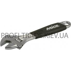 54-022 Ключ разводной c эргономичной ручкой 200мм (0-24мм)