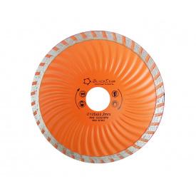 30-12505 Диск алмазний 125x22,2 мм Турбо-хвиля BlackStar