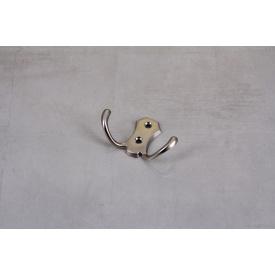 Мебельный крючок GTV К24-B0 двойной сатин