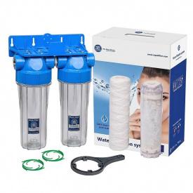 Линейная система Aquafilter FHPRCL34-B1-TWIN