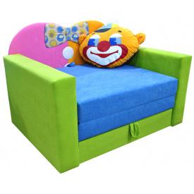Малютка диван Ribeka Клоун Зеленый (01M051)