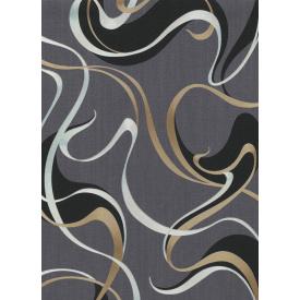 Виниловые обои на флизелиновой основе Erismann Spotlight 12070-15 Серый-Золотой-Серебристый