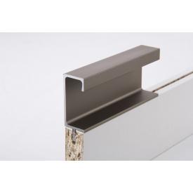 Меблева ручка профільна врізна Н 3 для ДСП 18 мм 5,95 м коньяк
