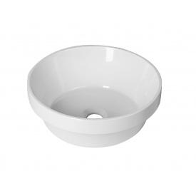 Частично врезной умывальник для ванной комнаты Bulsan Minima incasso круглый 370