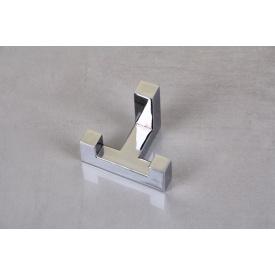 Мебельный крючок GTV К2202 двойной хром