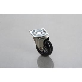 Меблевий ролик GTV BRAZYLIA 50 мм без гальма чорний