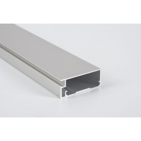 Алюминиевый рамочный профиль для мебельных фасадов М 12 5,95 м алюминий натуральный серебро
