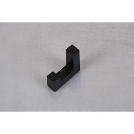 Мебельный крючок GTV К2201 одинарный черный