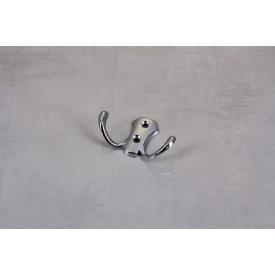 Мебельный крючок GTV К24-B0 двойной хром