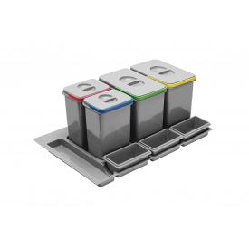 Сегрегатор GTV MULTINO для модуля 900 мм серый (PB-91174100B5)