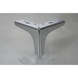 Мебельная ножка GTV STGY 135x135 мм 100 мм хром