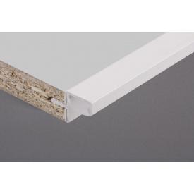 Профиль для фасадов без ручек в верхний модуль под LED-подсветкуФБР 5950 мм белый
