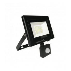 Светодиодный прожектор с датчиком движения Horoz Electric 50W 6400K Pars/s50