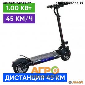 """Электросамокат Crosser Т4 колеса 10"""" кругл. спидометр"""