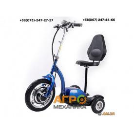 Электросамокат с сиденьем TTG T06-1 36V350W 12AH - SM (синий) трехколесный