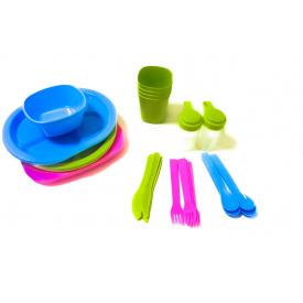 Набор посуды для пикника R86497 36 шт на 4 персоны
