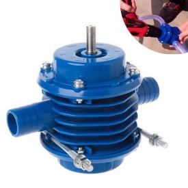 Насадка насос помпа на дриль шуруповерт для перекачування води 40-50 л/хв 12.5х10.7х7.8 см