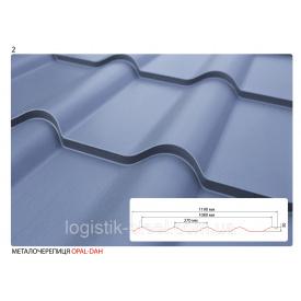 Металлочерепица Опал 0,45 мм полиэстер (US Steel, Словакия)
