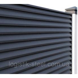 Забор Жалюзи тип Smart 40/120 мм двухстороннее покрытие