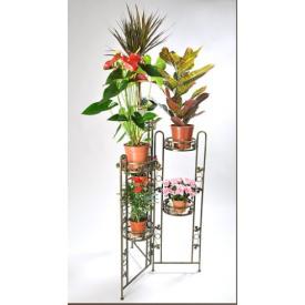 Подставка для цветов Холодная ковка Раскладушка карусель 6