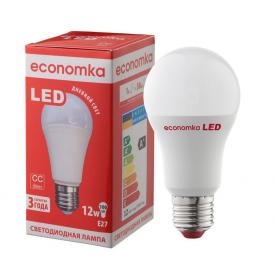 Светодиодная лампа Economka LED A60 12W E27 4200K